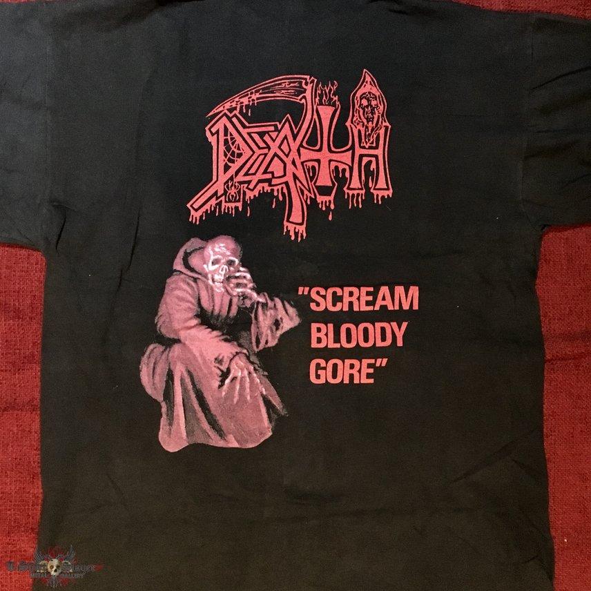 Death scream bloody gore blue grape 92