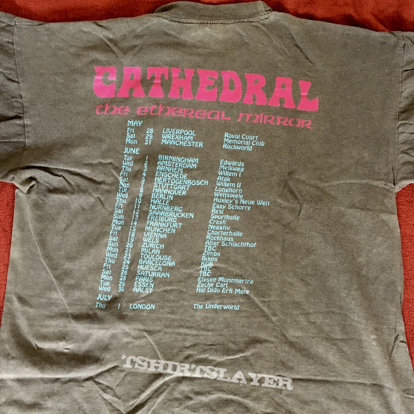 Cathedral - Ethereal Mirror euro tour 92/93