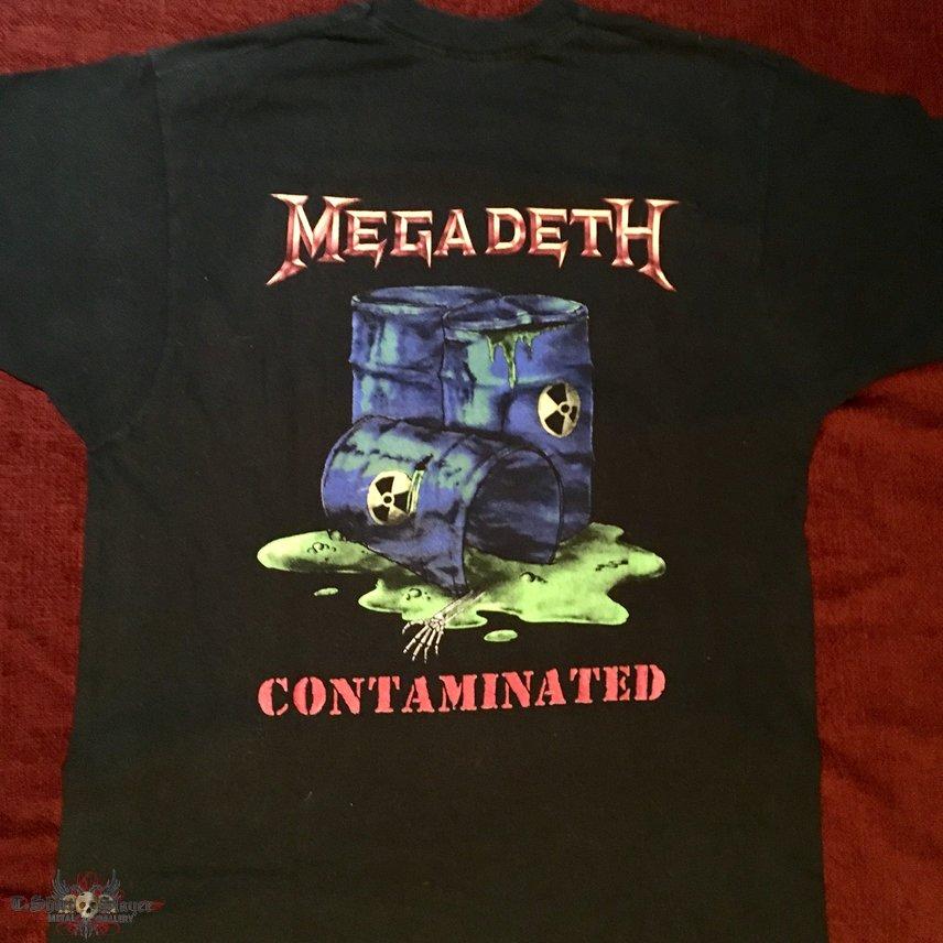 Megadeth contaminated 89