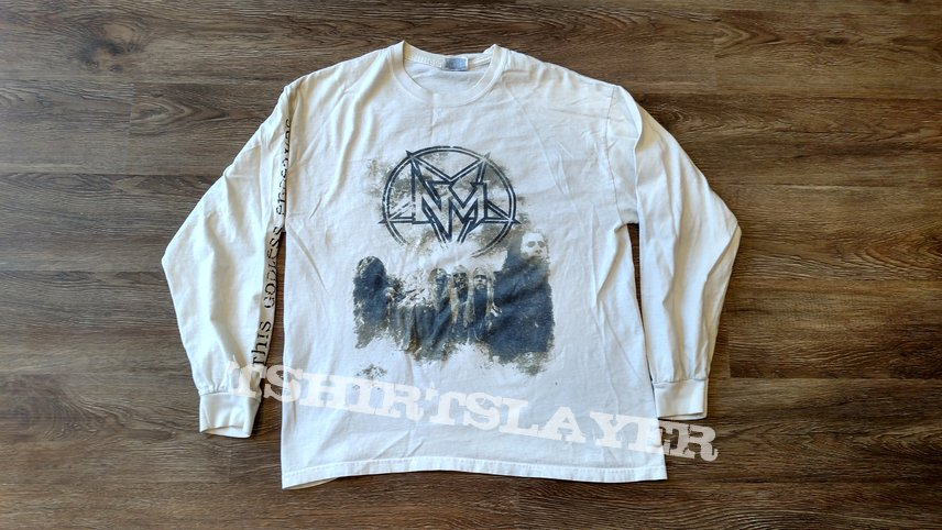 2b34cb51 Nevermore This Godless Endeavor White Longsleeve   TShirtSlayer TShirt and  BattleJacket Gallery