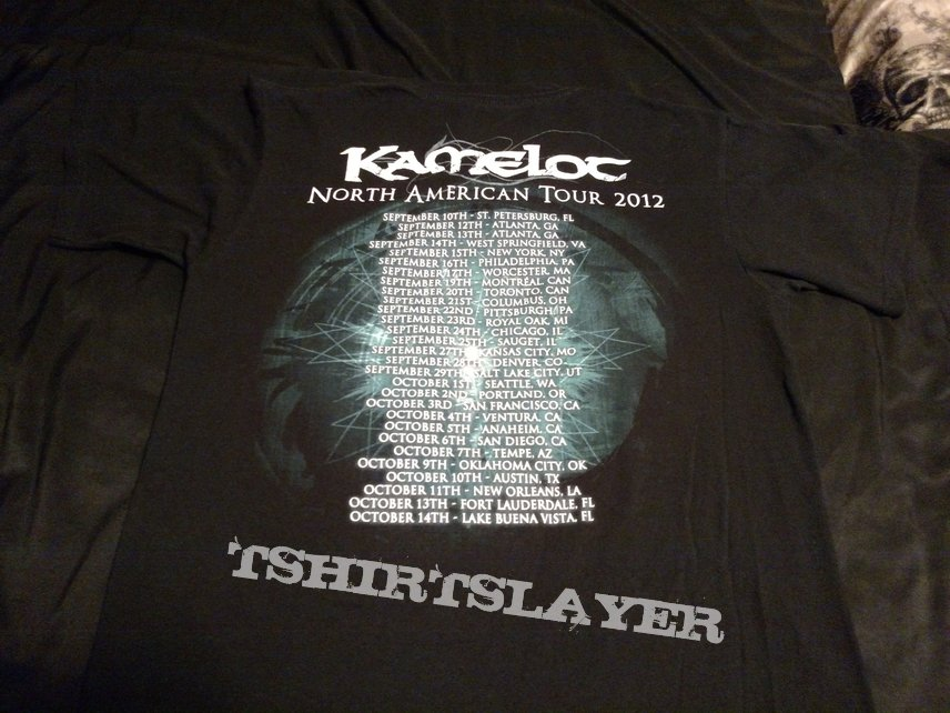 Kamelot Silverthorn North American Tour 2012 Shirt