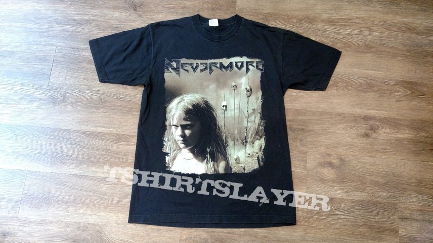 a4372d51 Nevermore This Godless Endeavor 2006 Tour Shirt   TShirtSlayer ...