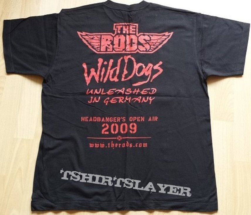 The Rods - Wild Dogs shirt