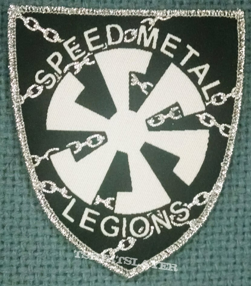 Speed Metal Legions Woven Patch.