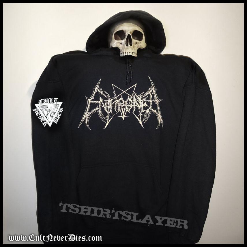 Enthroned - The Cult Never Dies hooded sweatshirt