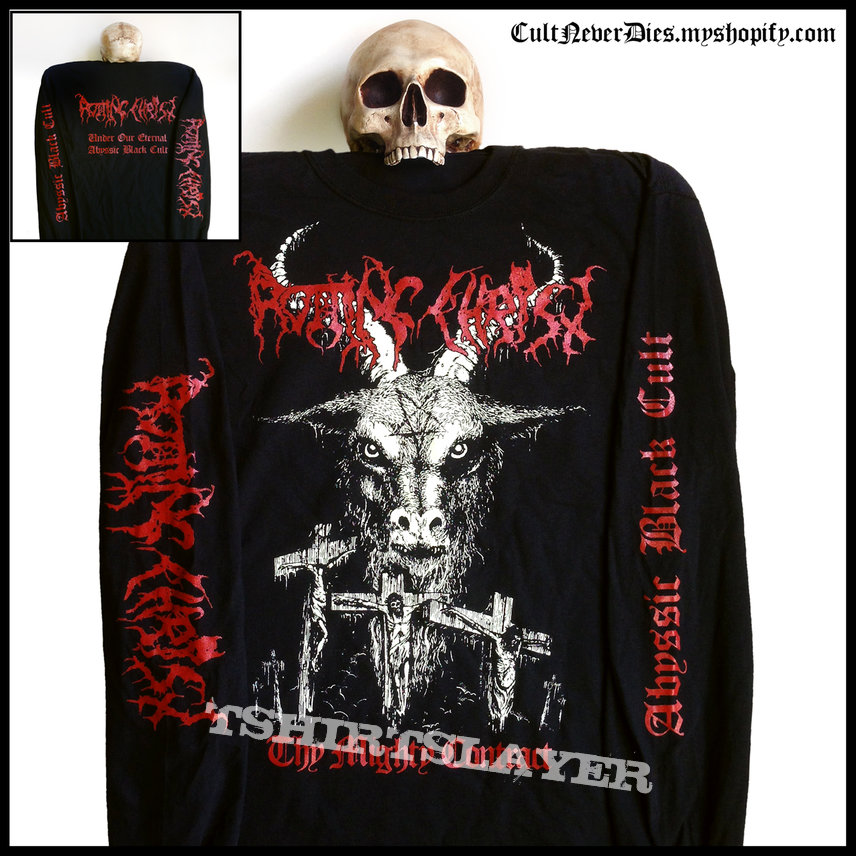 • ROTTING CHRIST - 'Thy Mighty Contract' official longsleeve