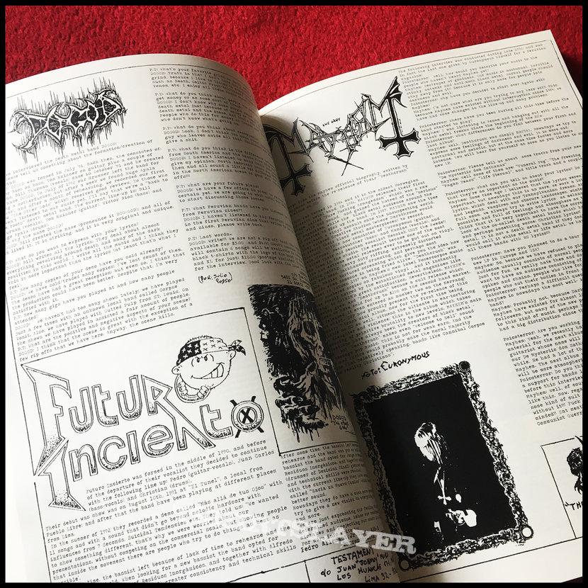 PSICOTERROR 1991-2016 book [massive black metal, death metal and industrial fanzine anthology]