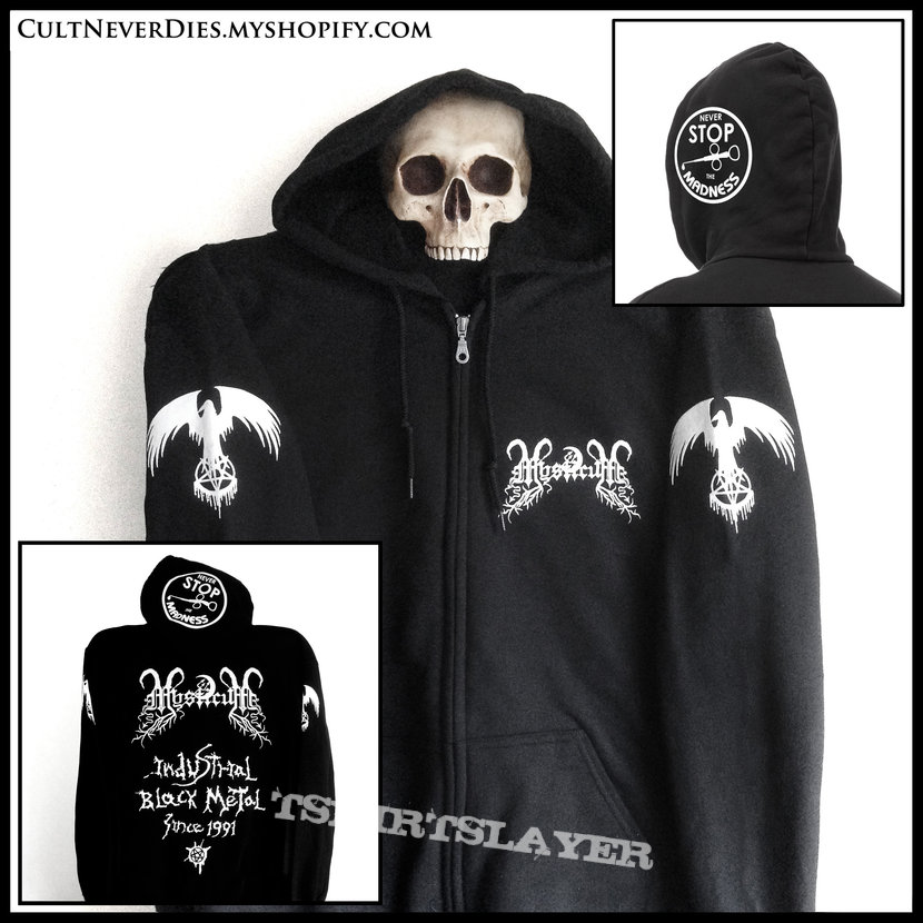 MYSTICUM: official 'Never Stop The Madness' zip hoodie