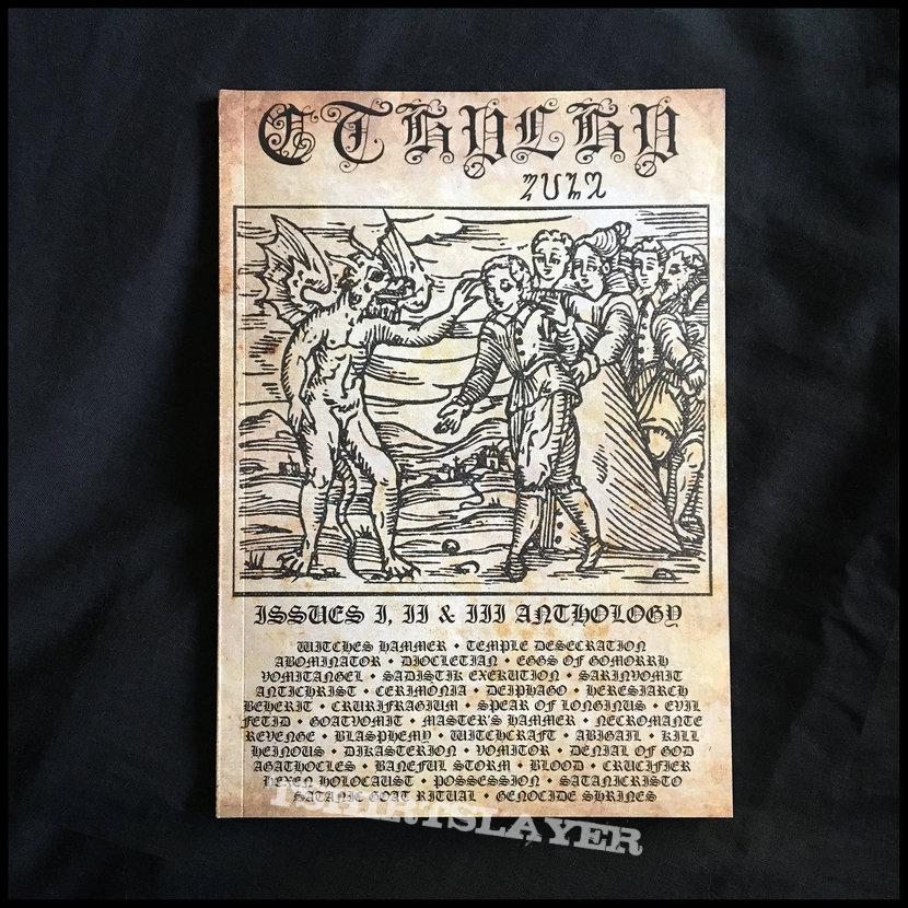 CTHULHU ZINE: Issues 1, 2 & 3  Fanzine Anthology