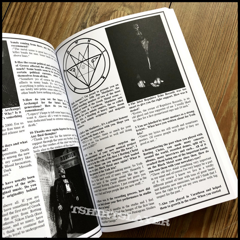 CTHULHU ZINE: Issues 7, 8 & 9 Fanzine Anthology