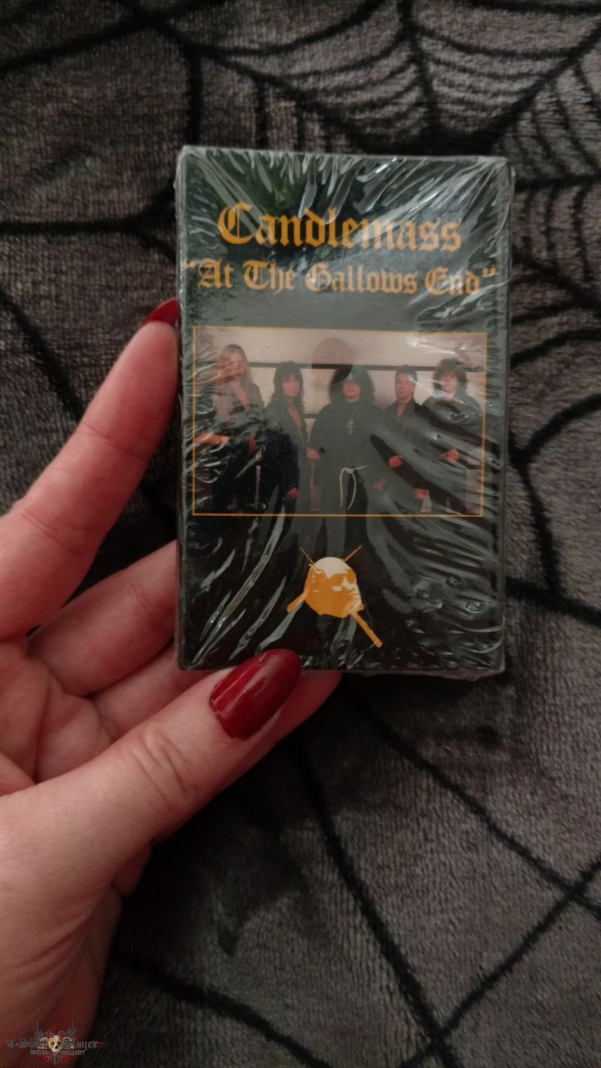 Candlemass - At The Gallows End Cassette Single