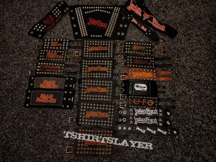 Studded heavy metal wristbands!! *UPDATE*