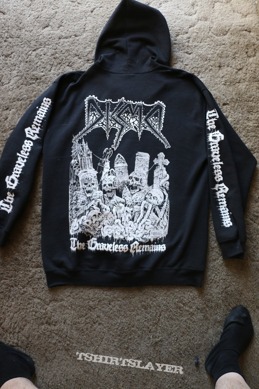 Disma - The Graveless Remains (Zip Hoodie)