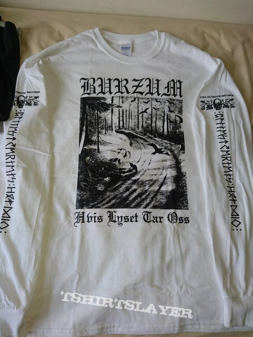 Burzum - Hvis Lyset Tar Oss white longsleeve 1995 ...
