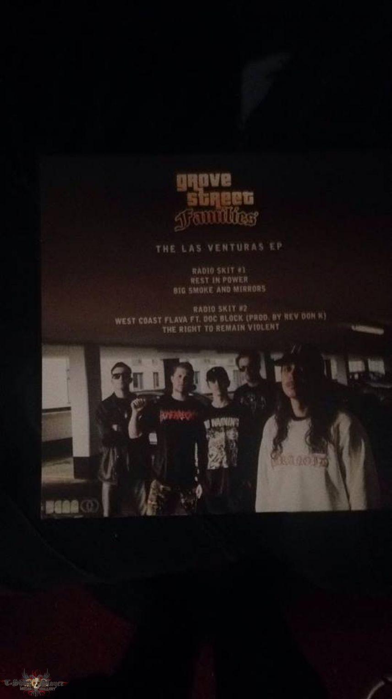 The Las Venturas EP Vinyl (Green Splatter)
