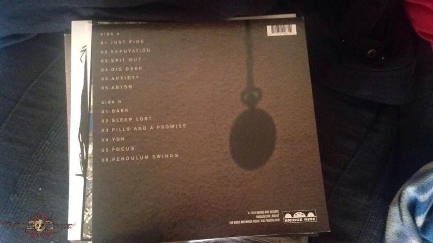 Pendulum Swings Green Splatter Vinyl