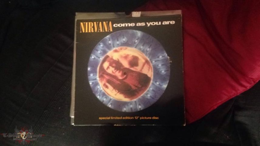"""Come As You Are 12"""" Picture Disk"""