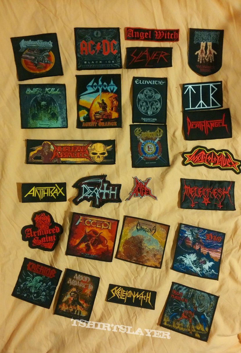 Woven and embroidered patches