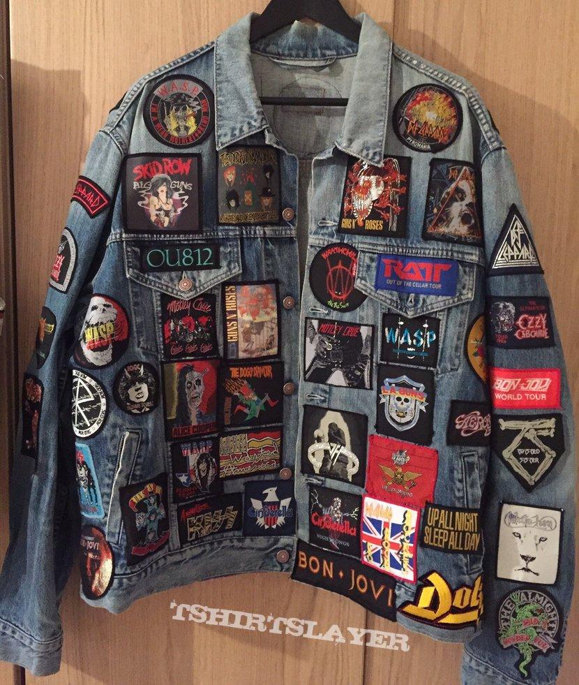 Glam rock battle jacket