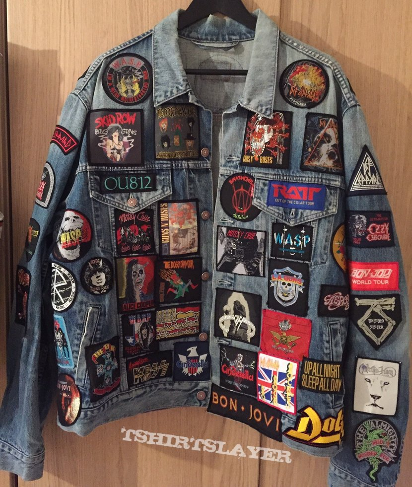 glam rock battle jacket