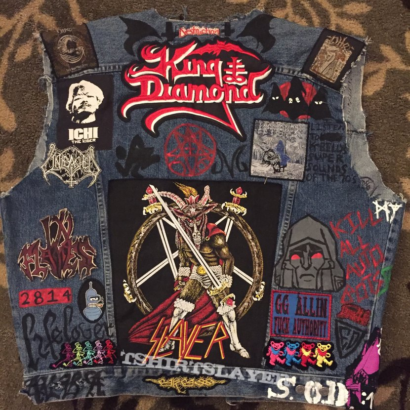 New & shittier vest