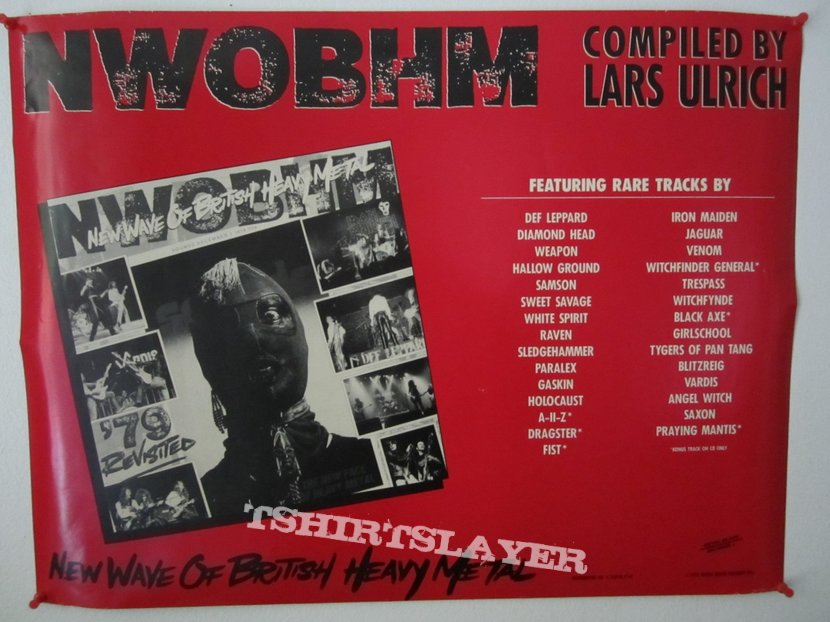 New Wave of British Heavy Metal '79 Revisited - Promo Poster
