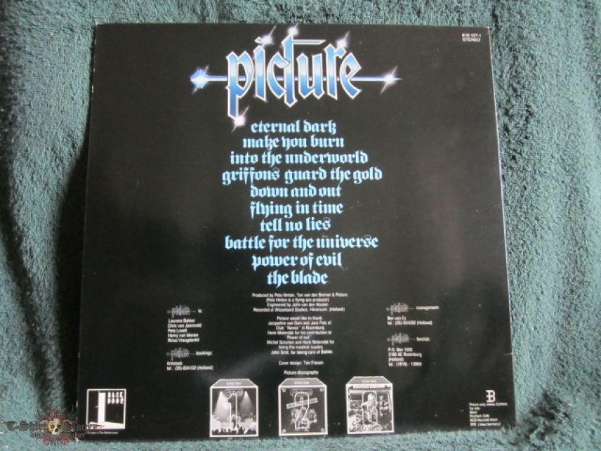 Picture - Eternal Dark (Vinyl)
