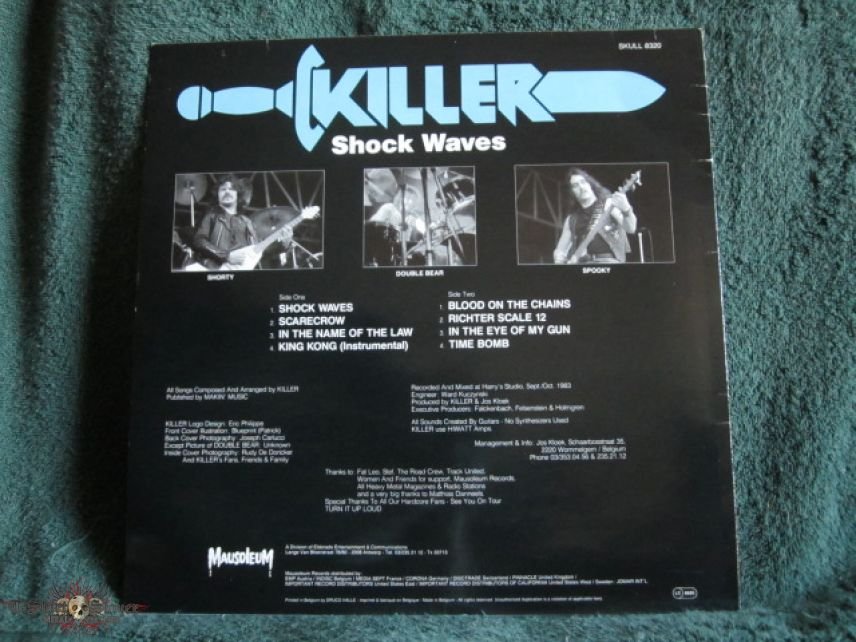 Killer - Shock Waves (Vinyl)
