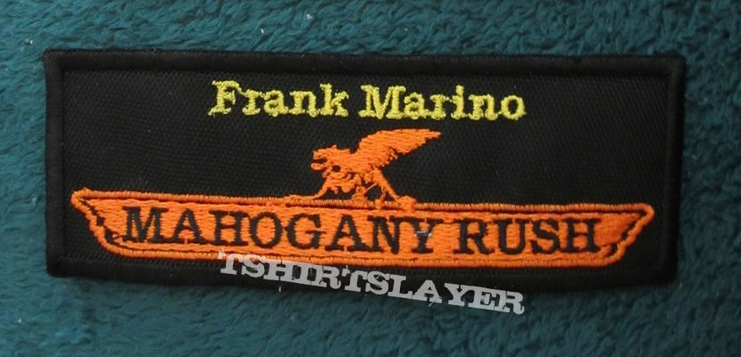 Frank Marino Mahogany Rush patch
