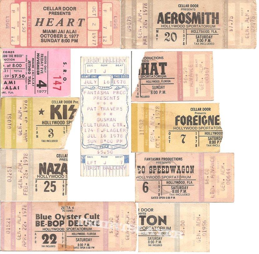 Various Artists - Ticket Stubs (1977 - 1980)