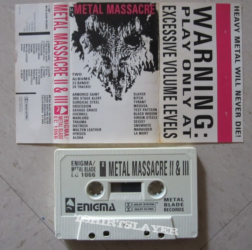 Metal Massacre - II & III (tape)