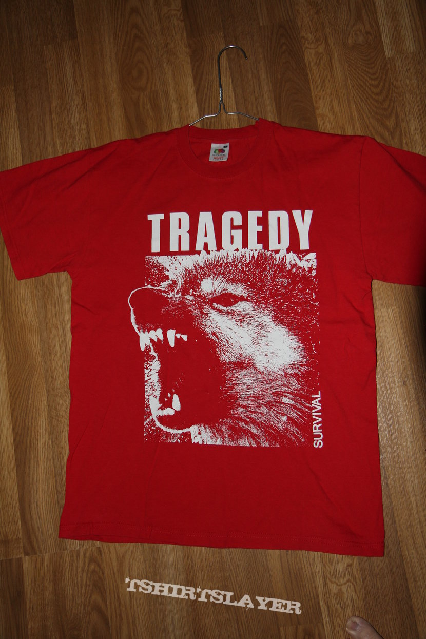 Tragedy Shirt Wolf Design Tshirtslayer Tshirt And