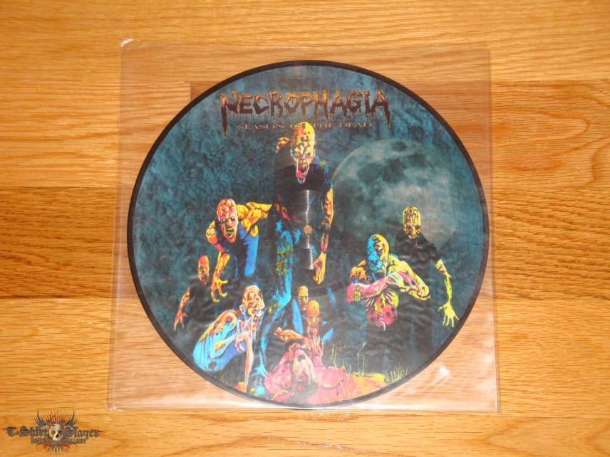 Necrophagia Season of the Dead LP Picture Disc