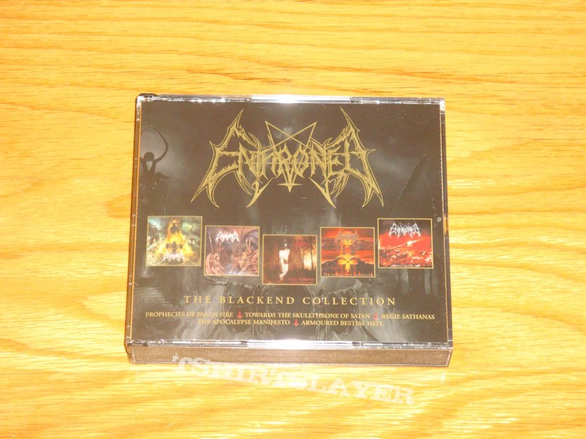 Enthroned - The Blackend Collection 4CDS