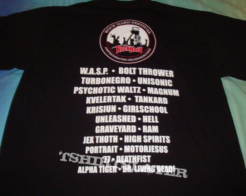 Rock Hard Festival 2012 shirt