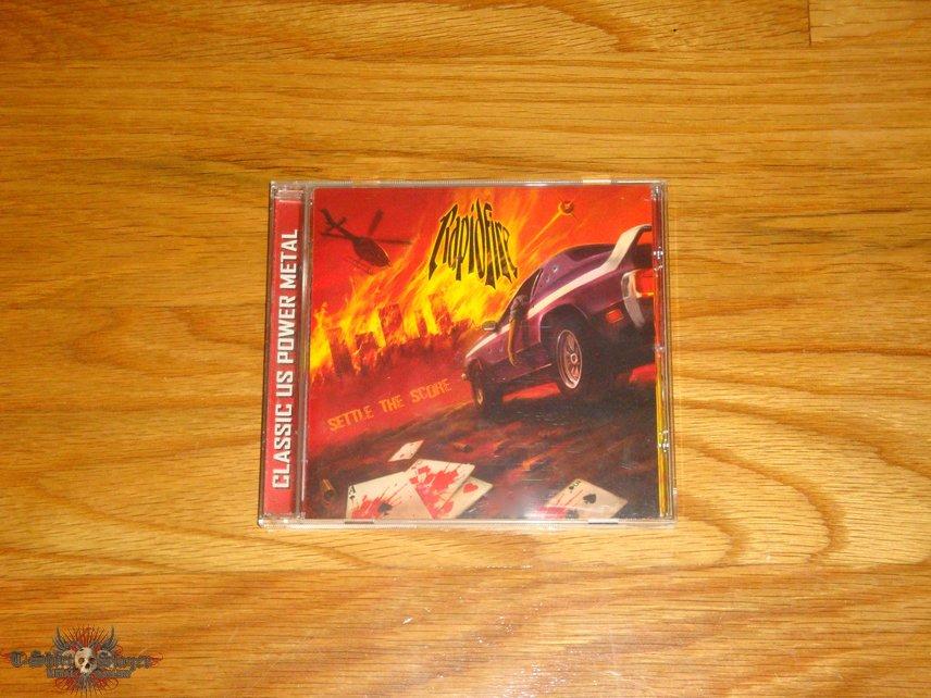 Rapid Fire - Settle the Score CD