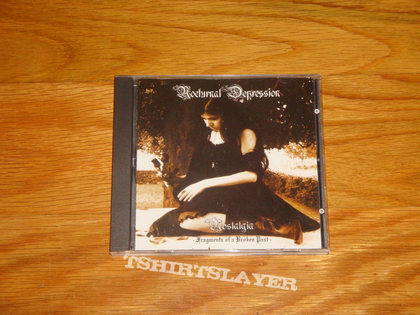 Nocturnal Depression - Nostalgia - Fragments of a Broken Past CD