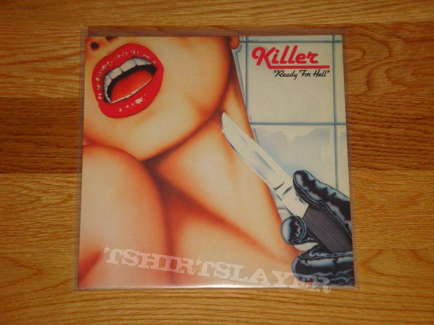 Killer Ready for Hell LP