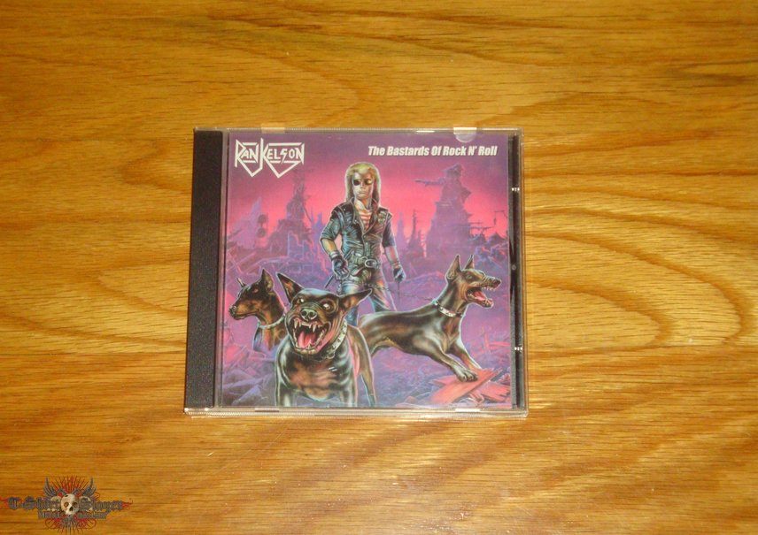 Rankelson - Hungry For Blood + The Bastards Of Rock N Roll CD