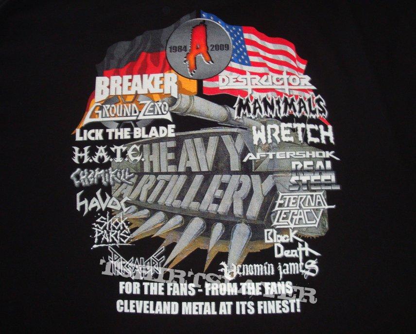 Auburn Records 25 years of metal shirt