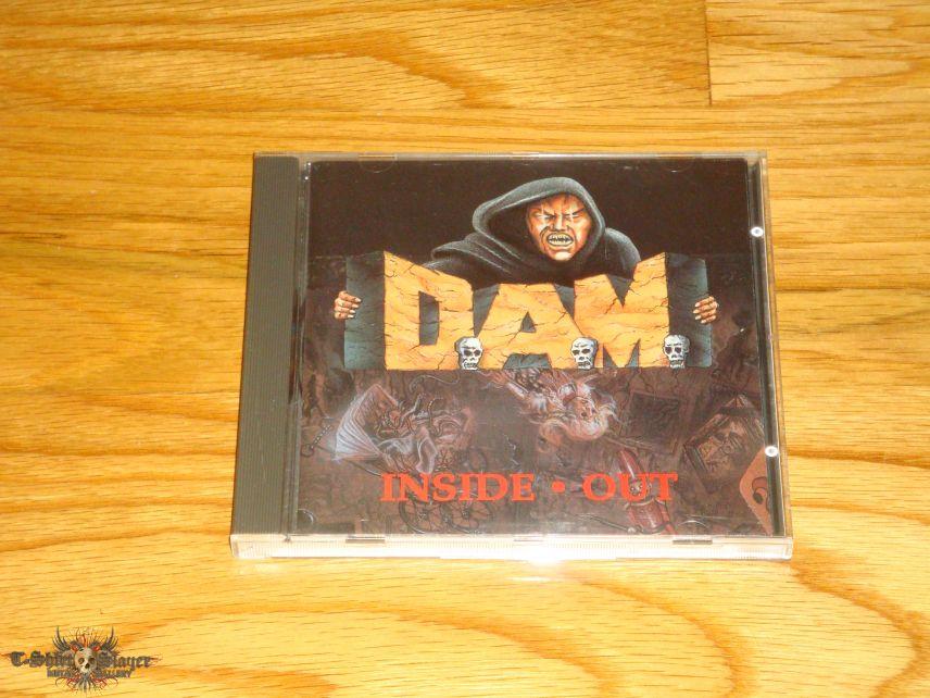 D.A.M. - Inside Out CD
