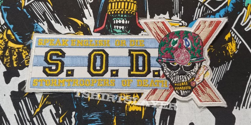 S.O.D. - Speak English or Die Patch