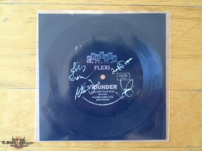 Vidunder - Gone With Dawn Flexi Disc