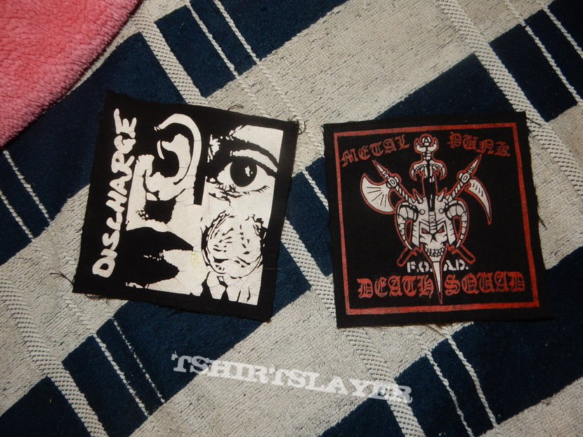 Some DIY patches