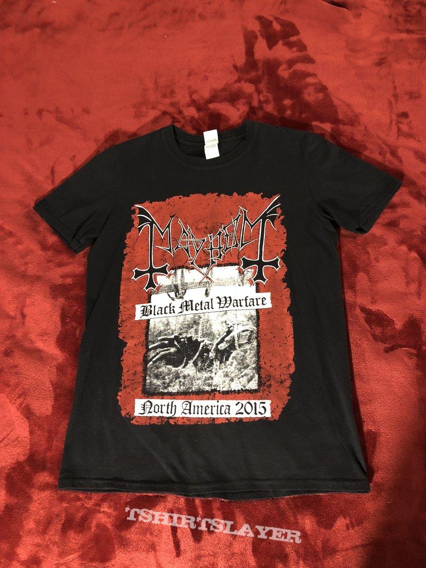 Mayhem Black Metal Warfare Shirt