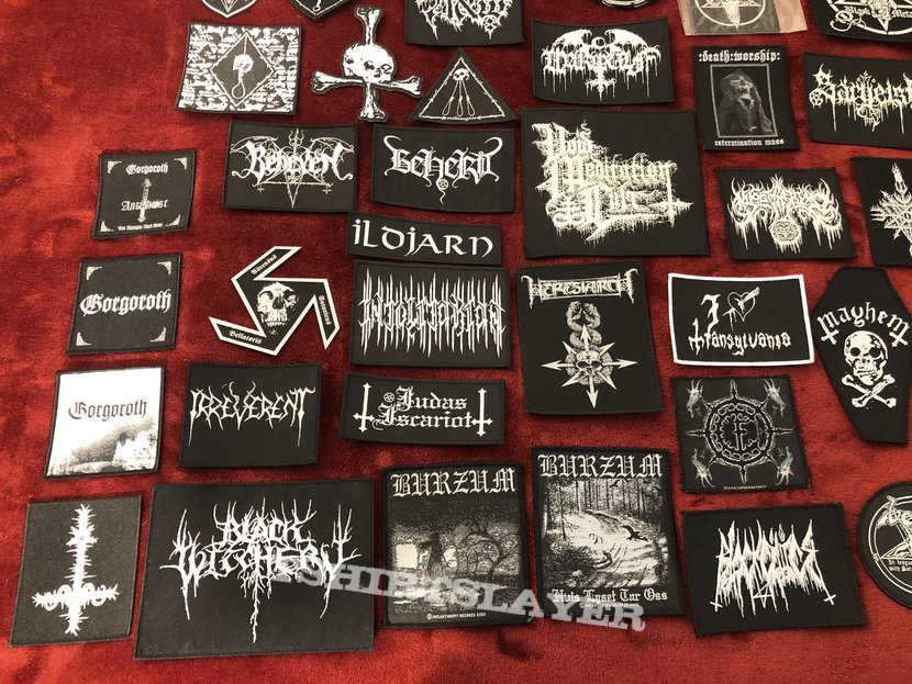 Official B&W Patches - Woven