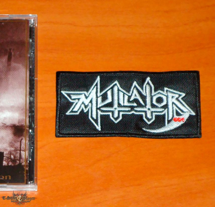 Mutilator - Logo - Patch