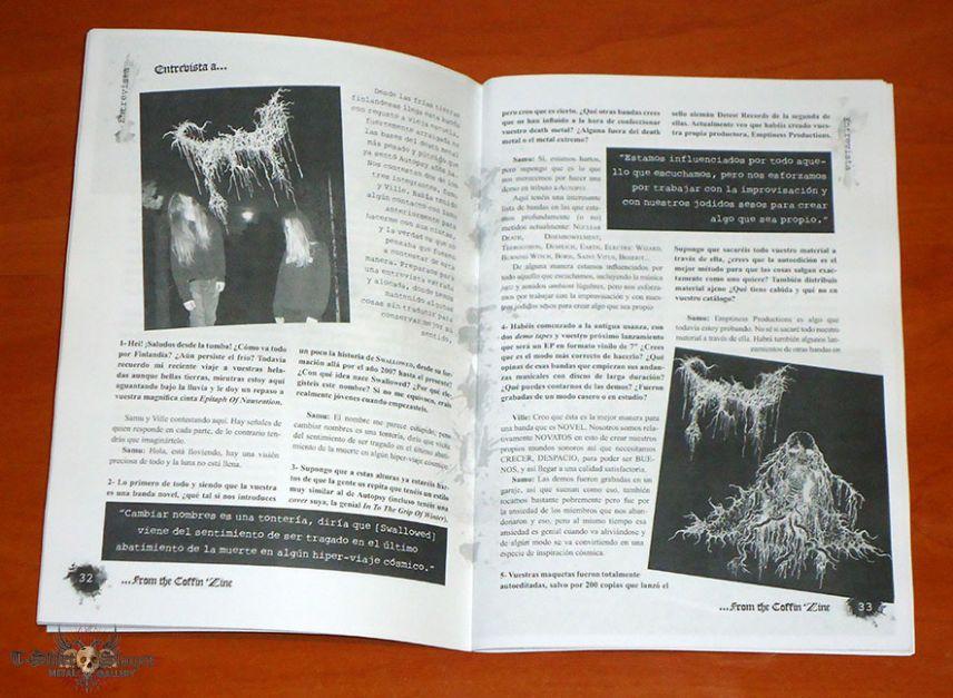 ...From The Coffin Zine - #01 - Fanzine