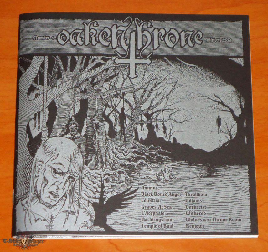 Oaken Throne - Number 4 - Fanzine
