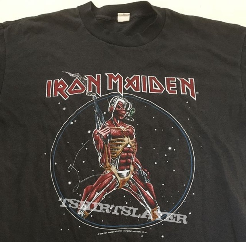 Iron Maiden somewhere in time 1986 shirt